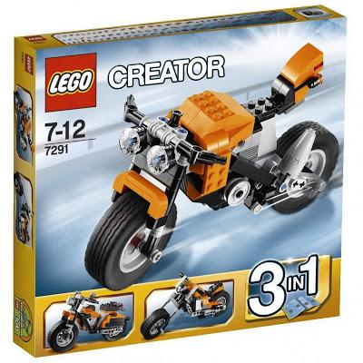 Đồ Chơi Lego Creator 7291 Street Rebel